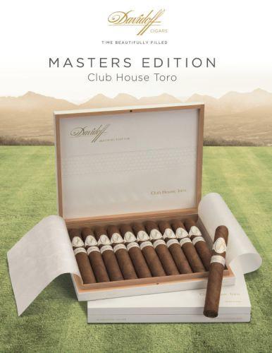 "Davidoff lanza los puros Masters Edition 2013 ""Club House"" Toro"