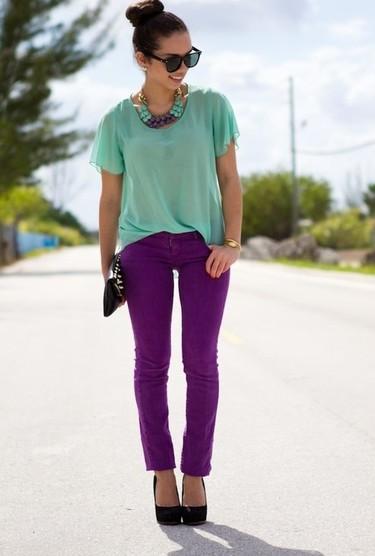 Combinaciones de moda: extrañas mezclas de colores ¡que funcionan!