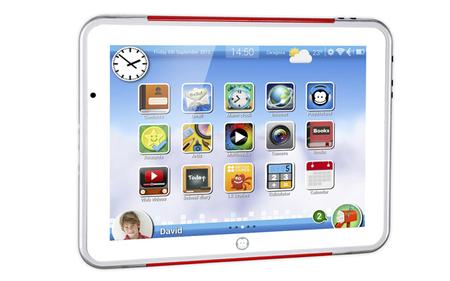Super paquito tablet para niños