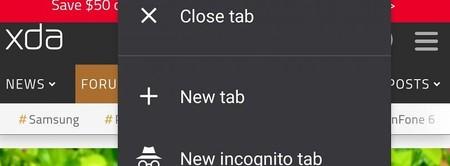 Google Chrome para Android prueba una nueva función para gestionar las pestañas de navegación