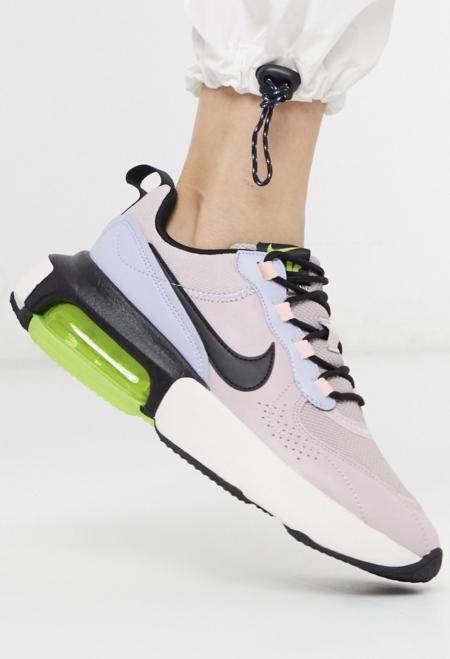 Zapatillas En Lila Y Verde Air Max Verona De Nike