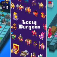 Looty Dungeon, llega a Android el juego de mazmorras infinitas inspirado en Crossy Road
