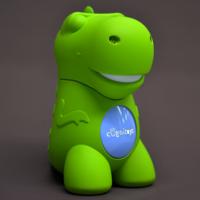 GreenDino es el juguete que tiene respuesta para (casi) todas las preguntas que hace un niño