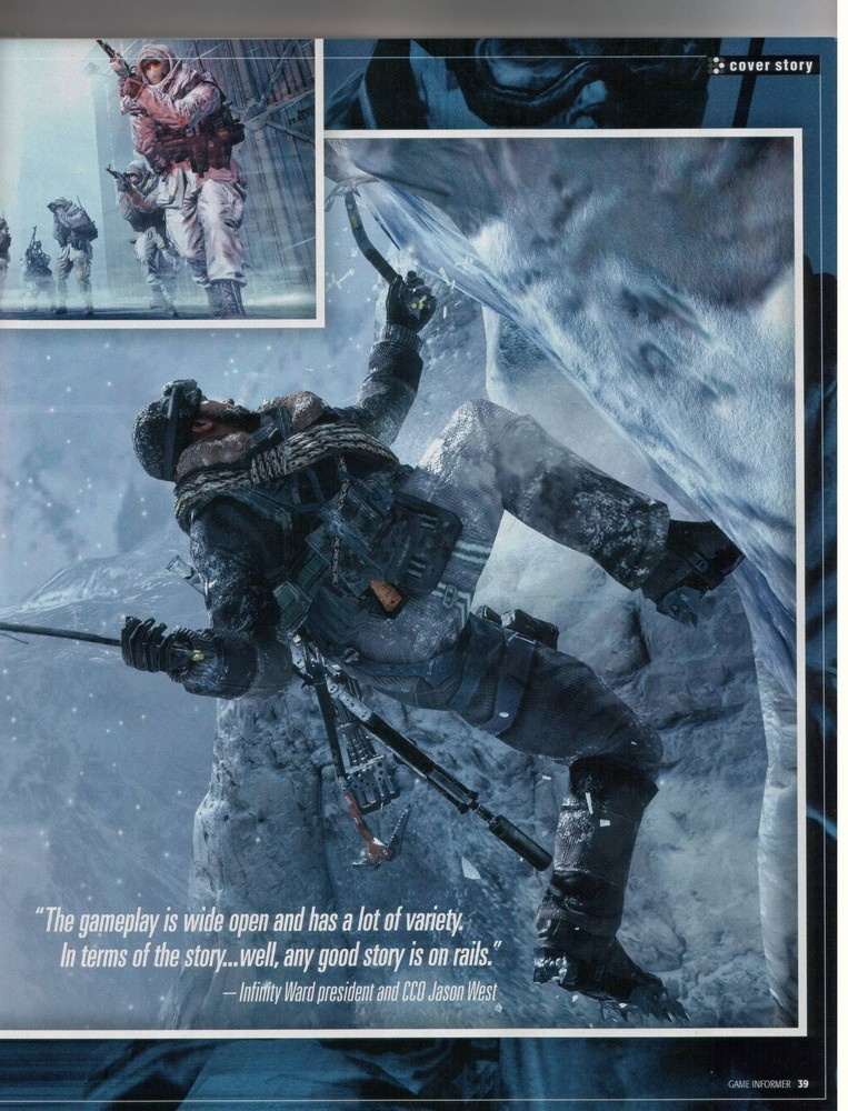 Foto de 'Modern Warfare 2' Scans Game Informer (4/10)