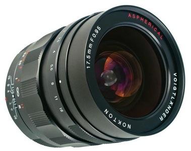 Voigtländer Nokton 17,5mm f/0.95, máxima luminosidad para monturas Micro Cuatro Tercios
