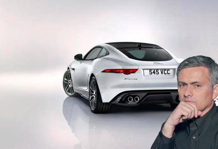 En Inglaterra, el primer Jaguar F-Type Coupé es para José Mourinho