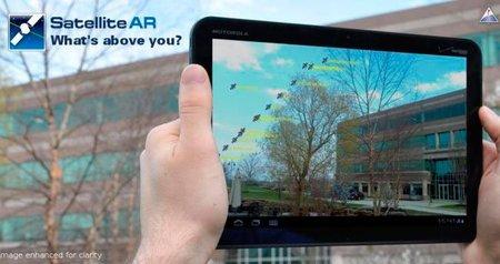Satellite AR: realidad aumentada en Android para ubicar satélites