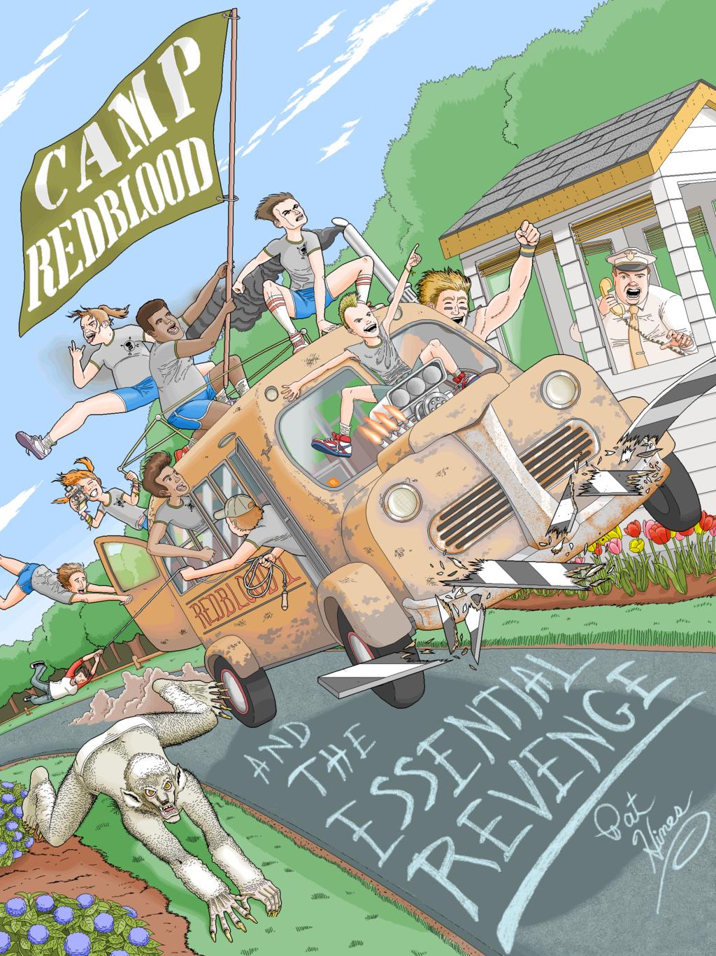 Microsoft Paint Ebook Illustrations Camp Redblood Pat Hines 9