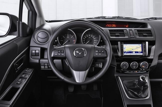 Mazda5, interior del monovolumen