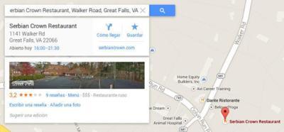 Modifican una ficha de Google Maps y se cargan un negocio