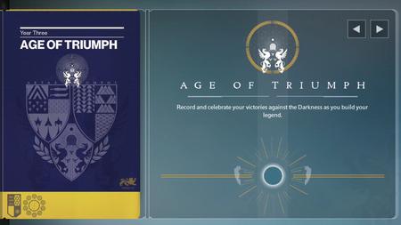 Bungie nos da un pequeño adelanto de Age of Triumph, el último evento planeado para Destiny; regresarán las viejas raids