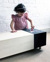 Matchbox, una mesa de centro para los niños más artistas