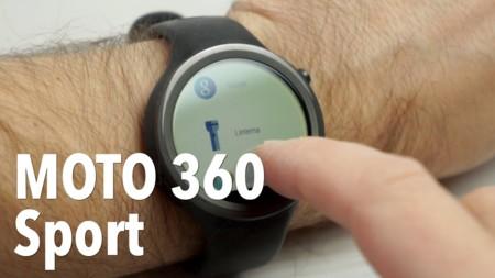 Smartwatch Moto 360 Sport por 179 euros en Redcoon