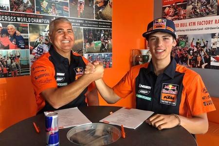 Jorge Prado se ha vuelto a ganar la confianza de KTM y renuevan juntos al menos hasta 2023
