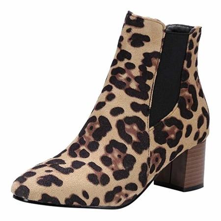 botín leopardo