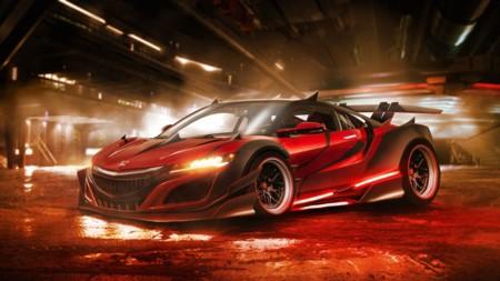 El Honda NSX de Darth Maul