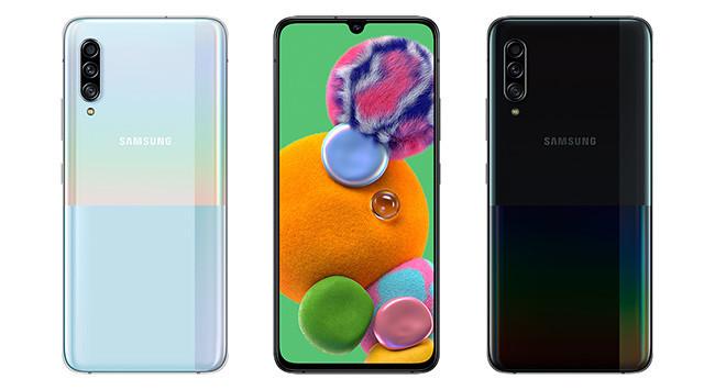 Samsung Galaxy A90 5G: las redes 5G y Samsung DeX se estrenan en un gama media con triple cámara trasera