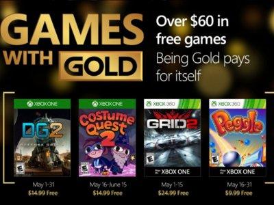 Puzzles, carreras y estrategia: estos son los Games With Gold de Mayo