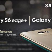 El nuevo Samsung Galaxy S6 Edge+ ya tiene fecha de anuncio en México: 26 de agosto