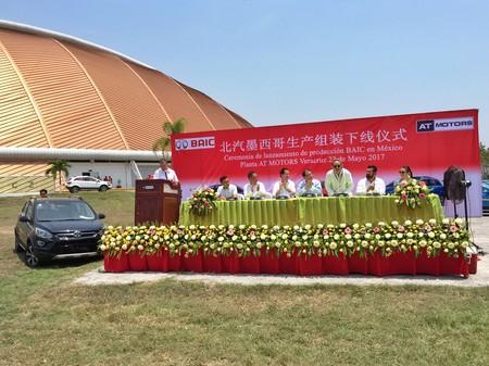 La marca de autos chinos BAIC comienza a ensamblar en Veracruz los autos que venderá en México