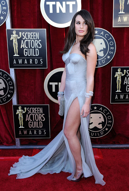 Lea Michele Screen Actors Guild Awards