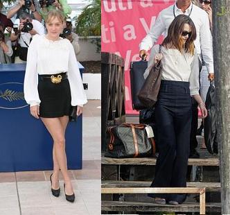 ¿Una camiseta blanca, el nuevo must have de las celebrities?