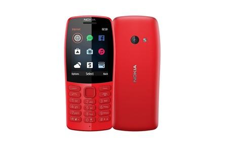 Nokia 210: el teléfono más básico de Nokia está pensado para redes sociales, promete 20 días de autonomía y cuesta 35 dólares