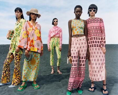 Zara celebra la llegada del buen tiempo con una campaña repleta de color y estampados estrambóticos