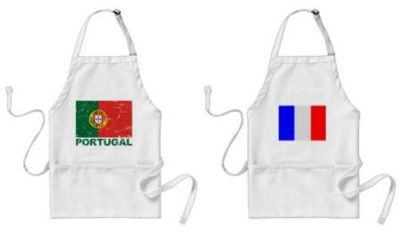 Portugal vs Francia: la versión gastronómica de la final de la Eurocopa