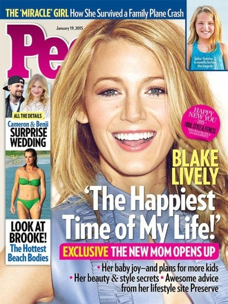 Y ahí tenemos a mamá Blake