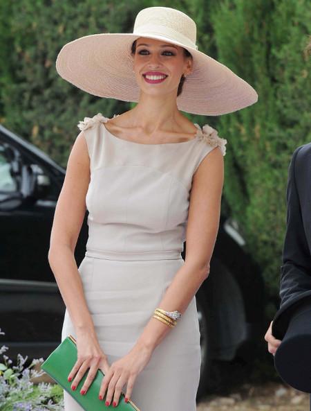 ¡Espectacular!: así lució Eva Gonzalez en la boda de Francisco Rivera y Lourdes Montes