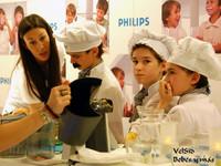 La cocina de los mini chefs, niños enseñando hábitos saludables a los mayores