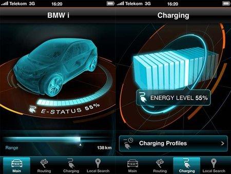 BMW nos muestra las imágenes de su aplicación para smartphones