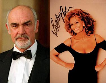 Sean Connery y Sophia Loren: los cuerpos más envidiados