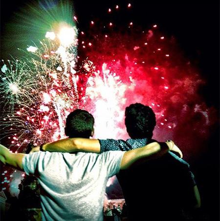 Joe y Nick Jonas 4 julio