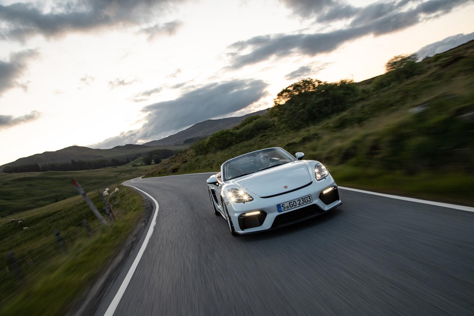 Foto de Porsche 718 Spyder (prueba contacto) (96/296)