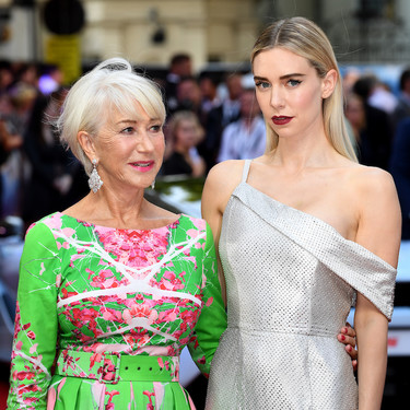 El pase especial de Fast & Furious en Londres nos deja una estupenda Helen Mirren y a Vanessa Kirby como un nuevo icono de estilo