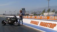 BMW S1000RR dragster por Roland Sands