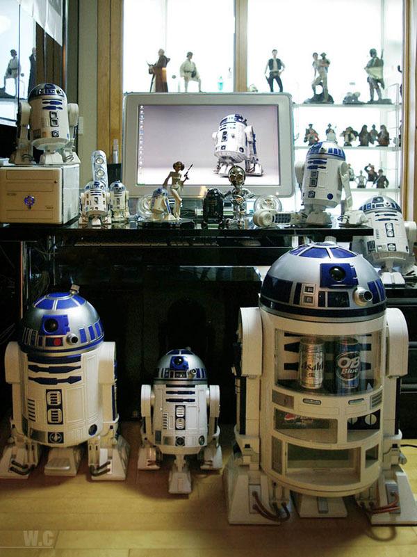 Foto de La casa de un fan de Star Wars con gusto (6/14)