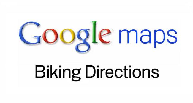 Google Maps Recorridos en bicicleta