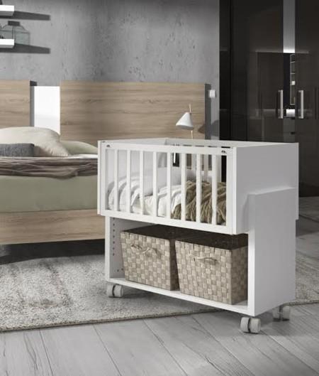 Cuna colecho de kibuc para adosar a la cama de los padres - Cuna cama para bebe ...