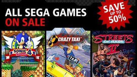 SEGA rebaja todos sus títulos en Xbox Live Arcade
