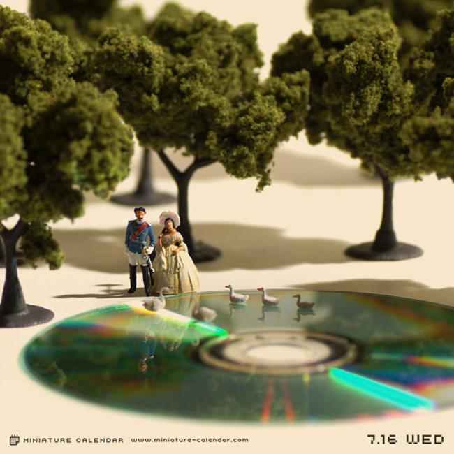 Miniature Calendar Tatsuya Tanaka 10