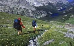Festival de senderismo en los pirineos franceses
