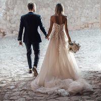 Esta blogger alemana se cambió hasta tres veces el día de su boda