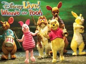 Disney Live! Winnie the Pooh en Barcelona
