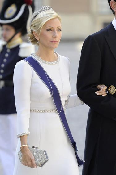 Los invitados de la Casa Real de Grecia en la boda de Magdalena de Suecia y Chris O'Neill