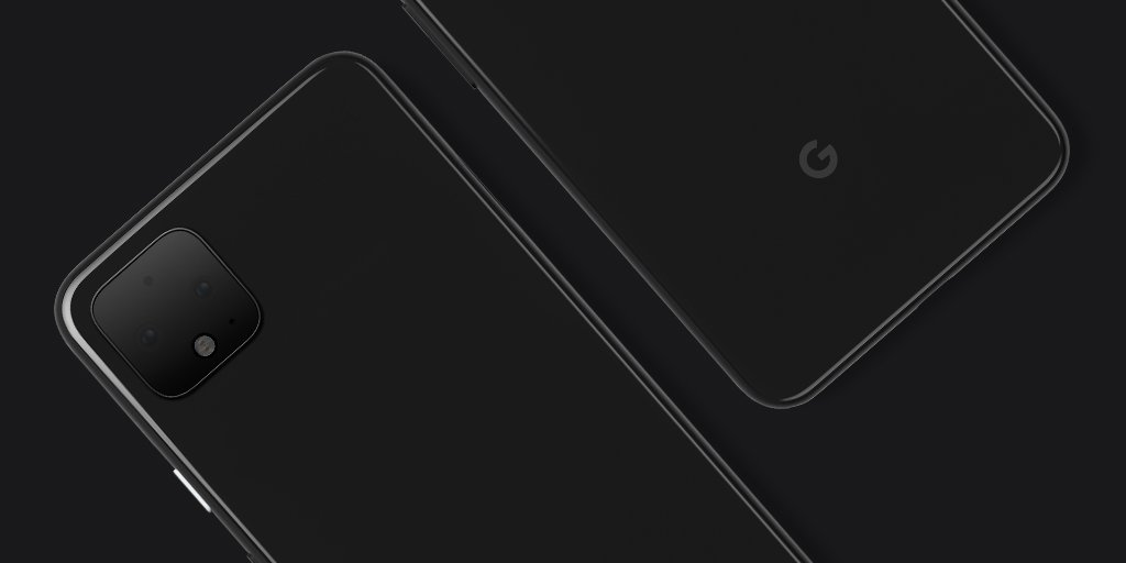 Google teaches the Pixel 4, and confirms that it will have dual camera on a huge module square