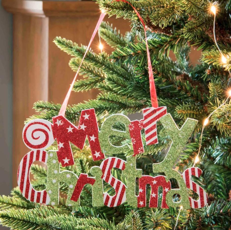 Decoración de Navidad roja y verde