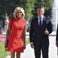 El vestido de la polémica: la elección estilística de Brigitte Macron que tiene dividido al mundo